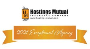 Best Insurance Agency - Hastings Mutual 2021 Exceptional Agency