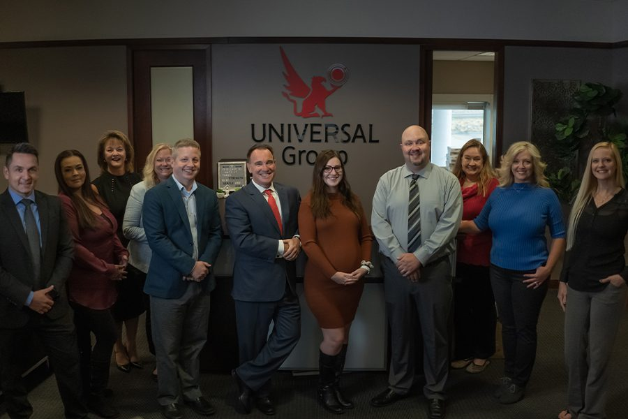 About - Team at Universal Group, LTD Portrait in the Office at Omaha, NE