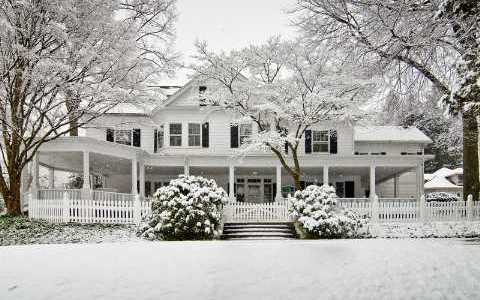 snow-covered