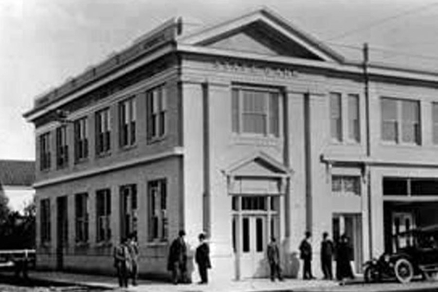 Contact - Historic Picture of Thrift Insurance Corporation Building from the Early 1900's
