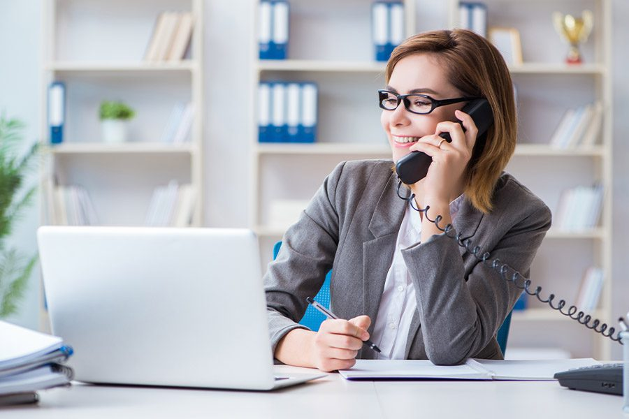 Employment Practice Liability Insurance - Businesswoman Working in the Office
