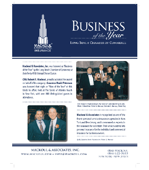 Award Business of the Year