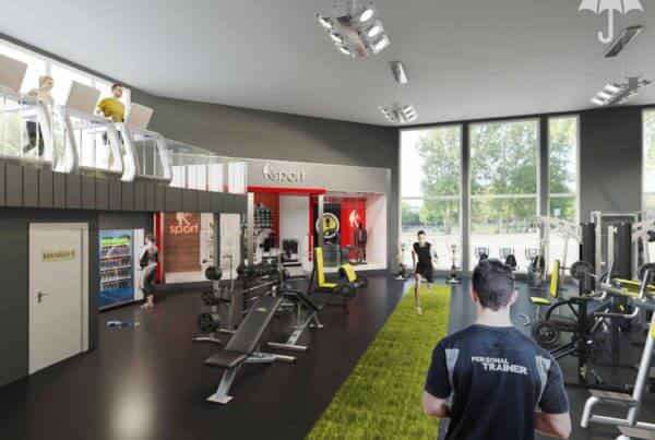 Clickable Coverage - Fitness Center