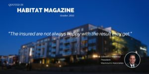 Mackoul Quoted in Habitat Article Aftermath - Getting the Payout You Deserve