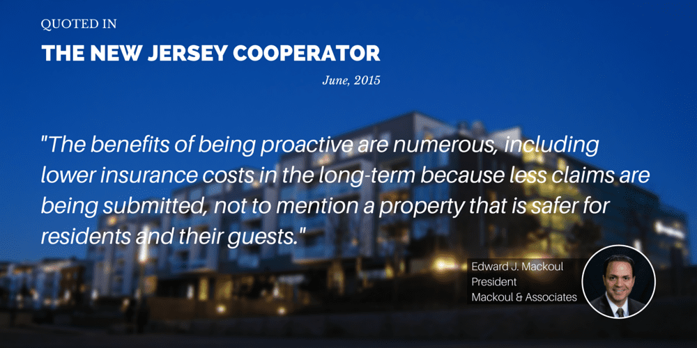 Mackoul Quoted in The New Jersey Cooperator Article- Reducing Risks