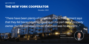 Mackoul Quoted in The New York Cooperator Article Security vs. Privacy