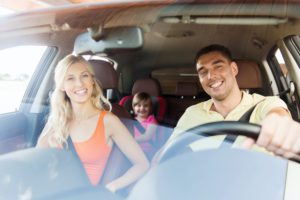 Tips for safe driving with children on board