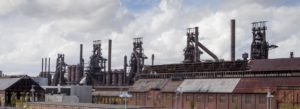 Header - Bethlehem SteelStacks Industrial Look