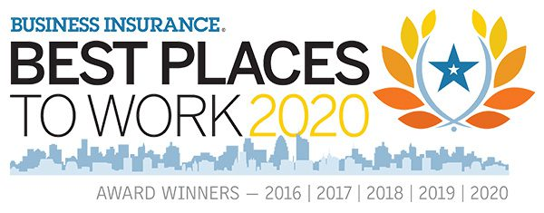 Business Insurance Best Places to Work 2020 - Logo