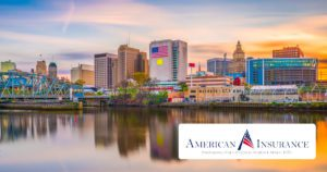 American Insurance - Open Graph View of Newark New Jersey Over the Water