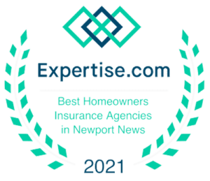 Logo - Expertise.com Best Homeowners Insurance Agencies in Newport News 2021 Color