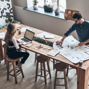 Man-and-Woman-Working