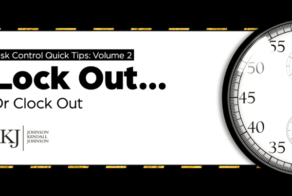 Volume 2: Lock Out…Or Clock Out