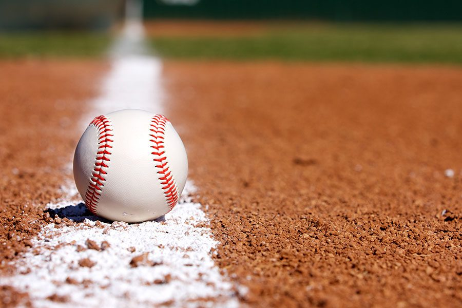 Header - Baseball On Field
