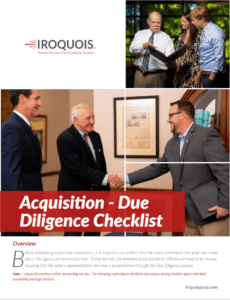 White paper advising independent insurance agency owners about acquiring other agencies