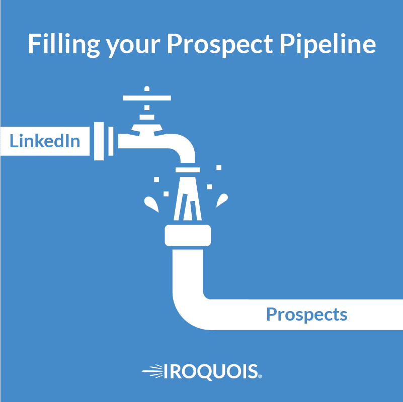 how to prospect on LinkedIn for Insurance Agents