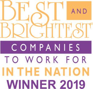 Best and Brightest in the Nation 2019 Logo