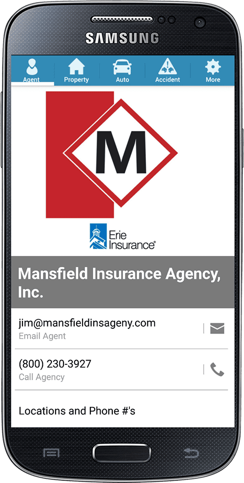 Mansfield Agency Mobile App