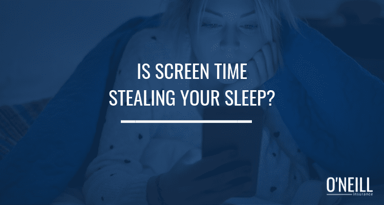 Screen Time Stealing Your Sleep