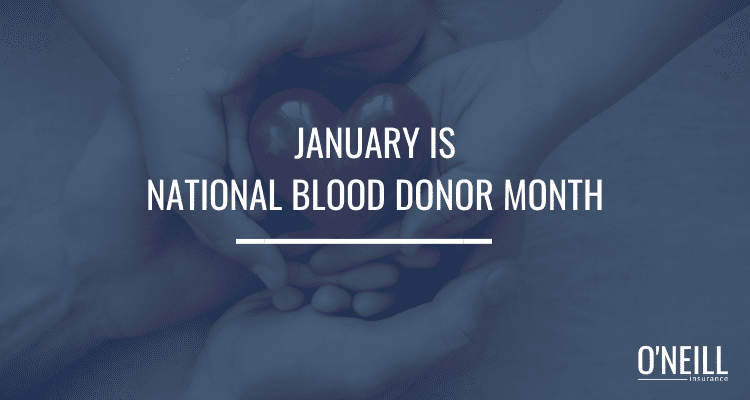 January National Blood Donor Month