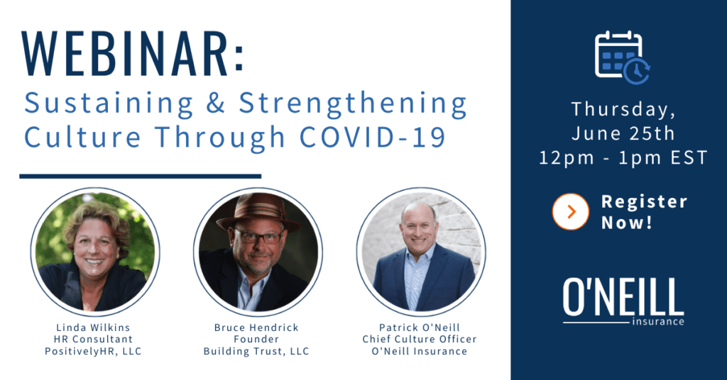 Webinar: Sustaining and Strengthening Culture Through COVID-19