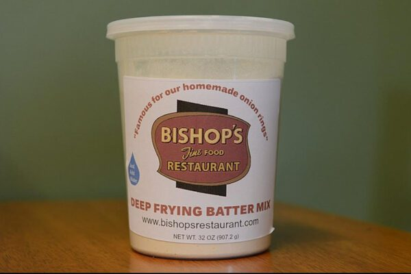 Our Business Partners - Bishops Restaurant Deep Fry Batter Mix Available for Purchase