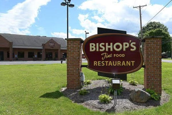 Our Business Partners - Bishops Restaurant Sign