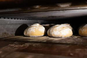 Our Business Partners - Broken Rocks Cafe Bread Baking in Oven
