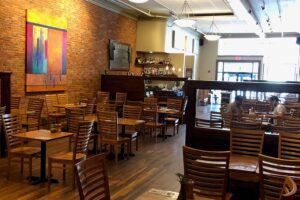 Our Business Partners - Broken Rocks Cafe Indoor Seating Area