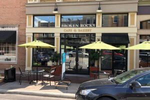 Our Business Partners - Broken Rocks Cafe Outdoor Seating Area