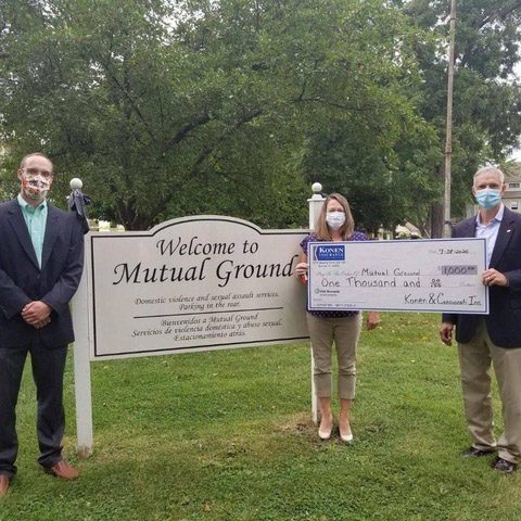 Giving Back - Mutual Ground Charity