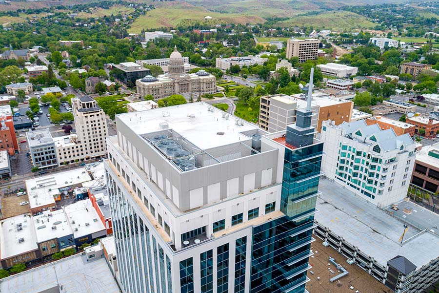 Insurance Quote - Commercial Buildings in Downtown Boise Idaho