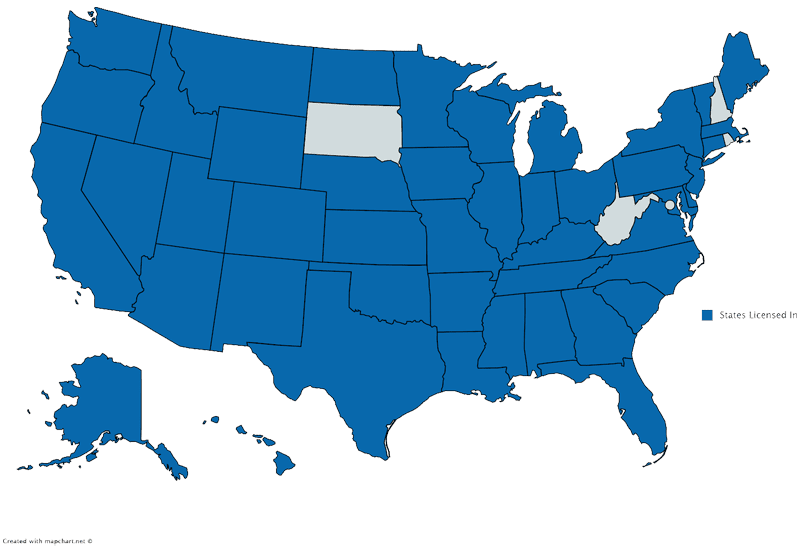States Licensed In - LACO