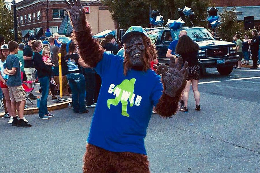 GNWIB - Partying Sasquatch at a Festival