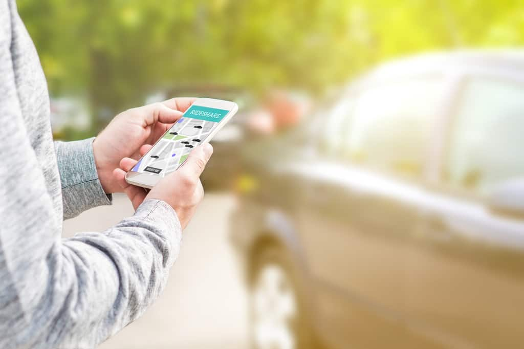 Accidents in Ride Shares Like Uber or Lyft