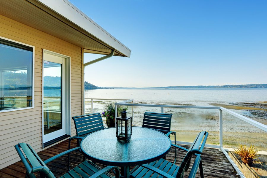 Rental Property Insurance - Scenic Beach House Overlooking the Ocean