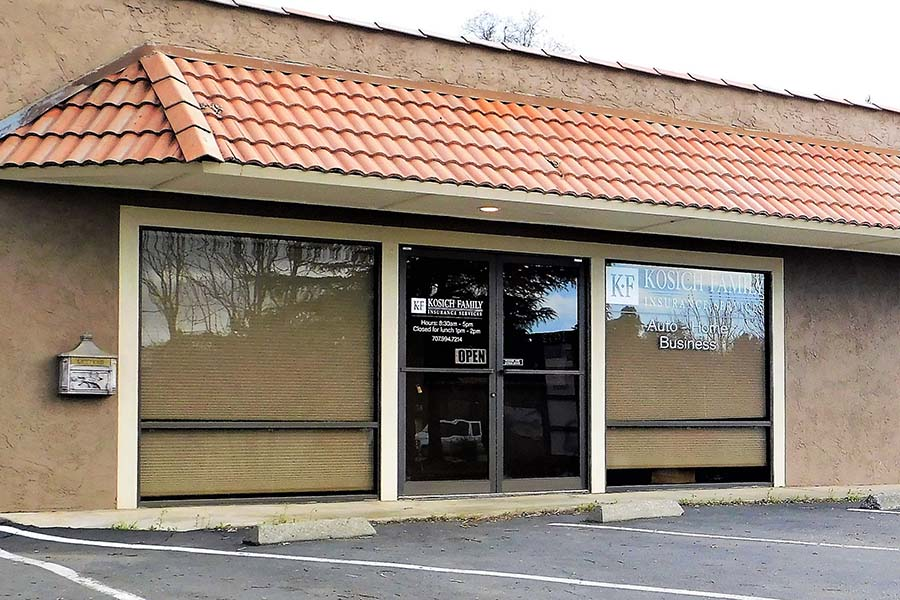 Clearlake CA - View of Kosich Office Building in Clearlake California