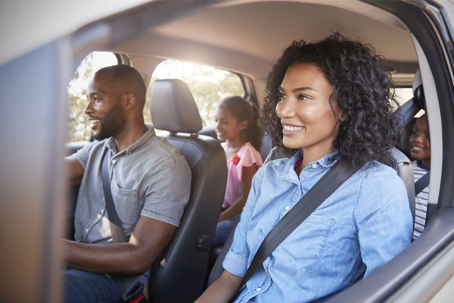 Auto Insurance - Family Traveling Together on a Road Trip