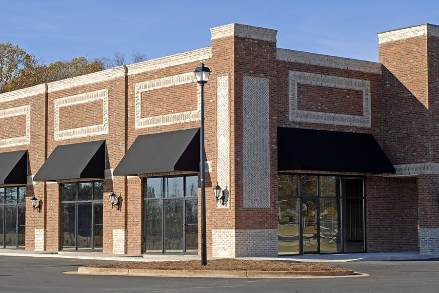 Business Insurance - Commercial Building with Available Office and Retail Space