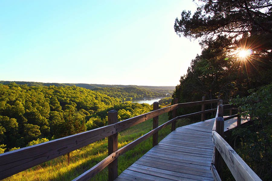 About Our Agency - View of Ha Ha Tonka State Park in the Ozarks Missouri