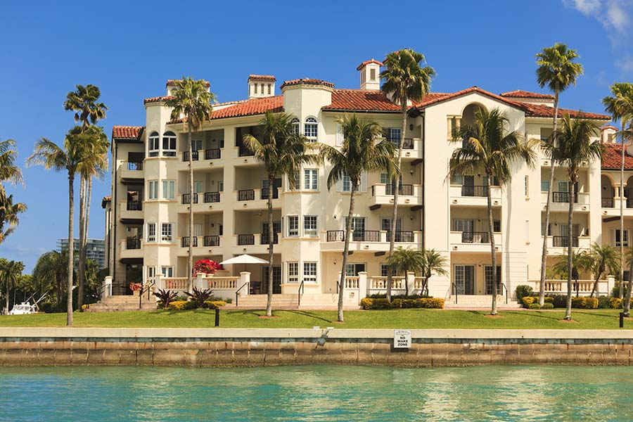 Specialized Business Insurance - View of Condo Building Next to the Coast in Florida
