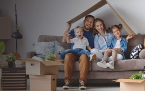 Family-Under-Cutout-Roof-Gradient