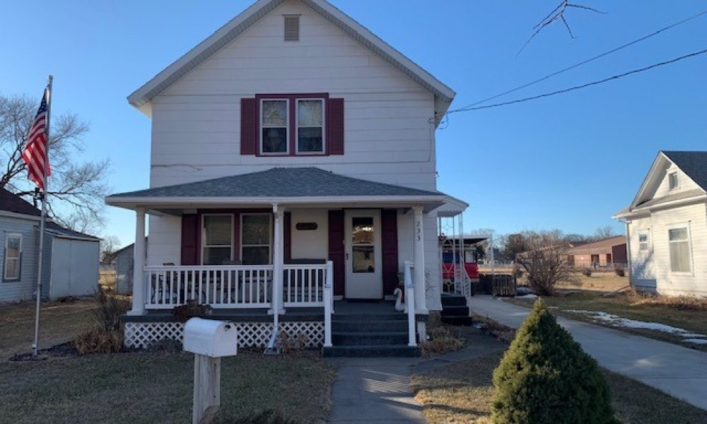 233 N Walnut, Red Cloud, Nebraska 68970, 3 Bedrooms Bedrooms, ,2 BathroomsBathrooms,Single Family Home,For Sale,N Walnut,1027