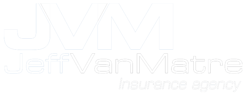 JVM JeffVanMatre Insurance Agency - Logo 800 White -
