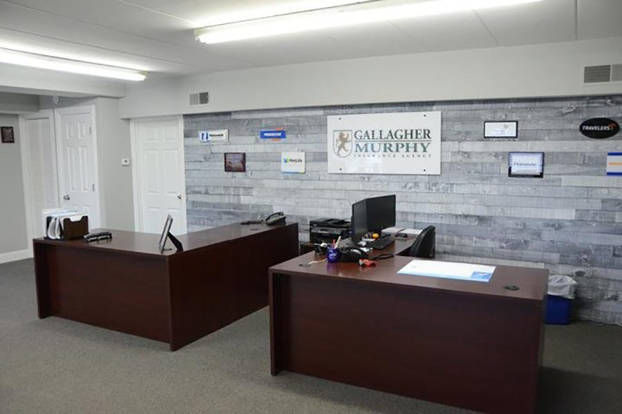About Our Agency - Gallagher And Murphy Insurance Office Interior