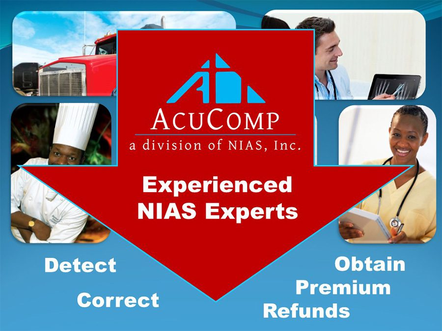 AcuComp - AcuComp Experienced NIAS Experts Graphic