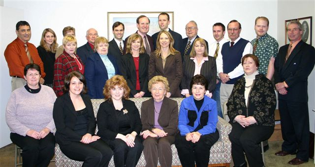 Virginia with the Baily Insurance family in 2006.
