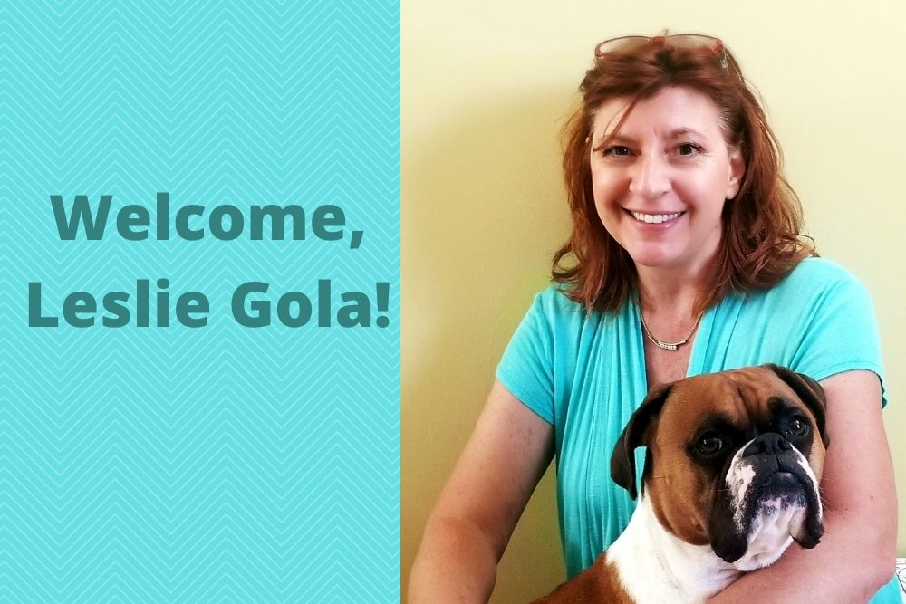 Welcome, Leslie Gola!