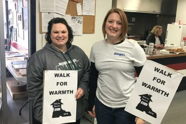 Walk for Warmth - Jess and Amanda H