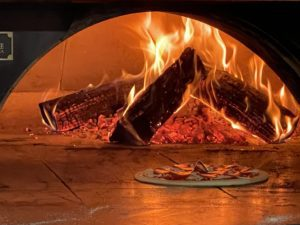 pizza, wood fired